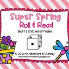 Short a CVC Super Spring Roll & Read