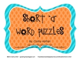 """Short """"a"""" Word Puzzles"""