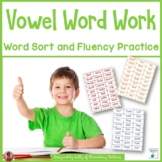 Short and Long Vowel Word Sort and Practice