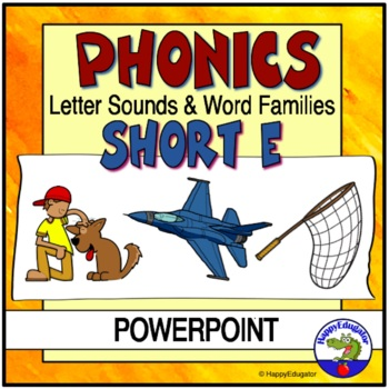 Short e Sound - Sounding Out Words