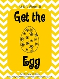 "Short e word packet: Compatible with Reading Street ""Get the Egg"""
