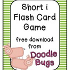 Short i Flash Card Game { Free Download }