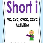 Short i Vowel Activities