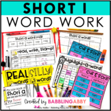 Short i Word Work Activities