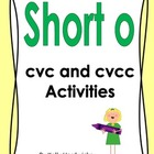 Short o Vowel Activity