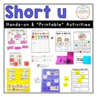 Short u Literacy Mini-Pack