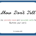 Show Don't Tell - Description of an angry person