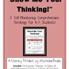 """""""Show Me Your Thinking!"""" A Self-Monitoring Strategy for Co"""