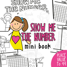 Show Me the Number Fun Book - Place Value Booklets