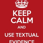 Show Me the Proof ~ Providing Textual Evidence ~ The Trial