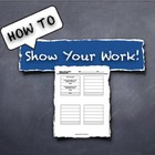 Show Your Work!  2-step equations: Help for early algebra
