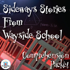 Sideways Stories from Wayside School Comprehension Questio