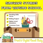 Sideways Stories from Wayside School {Novel Study and Writ