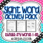 Sight Word Activities MEGA PACKET Volume 1!