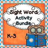 Sight Words, K-3, Bundled, Common Core Style