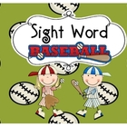 Sight Word Baseball