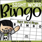 Sight Word Bingo (Third Grade)