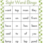 Sight Word Bingo Volume 3