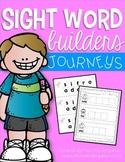 Sight Word Builders {Journeys words}