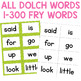 Sight Word Card Game