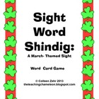 Sight Word Card Game - Shamrock Shindig Sight Word Recogni