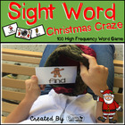 Sight Word Christmas Craze! - 100 High Frequency Word Read