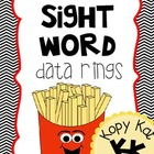 Sight Word Data Ring - 1st 100