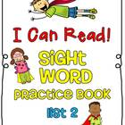 Sight Word (Dolch) Practice Book List 5