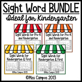 Sight Word Fluency Pages - THE BUNDLE SET