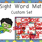 Sight Word Mats- CUSTOM SET of 100 Words- Super Hero Theme