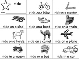 Sight Word Mini Book -ride - Treasures Unit 1