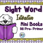 Dolch Sight Word Mini Books {38} ~ 7 Activities for Each W