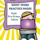 Sight Word Packet Dolch Pre-Primer SAMPLE [Free]