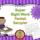 Sight Word Packet Sampler