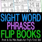 Sight Word Phrases Mini Fluency Books