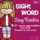 Sight Word Printable Easy Readers - Small Group Instruction