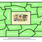Sight Word Puzzle Center - Easter Themed