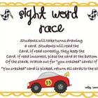 Sight Word Race