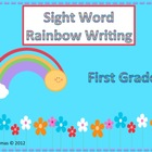 Sight Word Rainbow Writing-First Grade