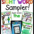 Sight Word Sampler (FREEBIE)