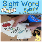 Sight Word Splash! - 100 High Frequency Word Reading Game