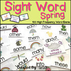 Sight Word Spring! - 100 High Frequency Word Reading Game