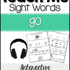 Sight Word Tutor: GO [Interactive Center with Printables a