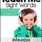 Sight Word Tutor Bundle: Pre-Primer Volume I [Center with