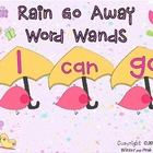 Sight Word Wands: April Showers