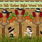 Sight Word Wands: Thanksgiving