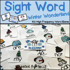 "Sight Word Activities ""Winter Wonderland"" - 100 Sight Word"