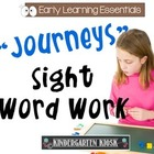 Sight Word Work #2: Trace, Write and Paste