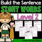 Sight Words Level 2 Build the Sentence {20 print and go pr
