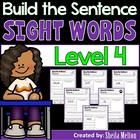 Sight Words Dolch List 4 Build the Sentence {20 print and